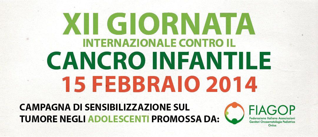 XIV Giornata mondiale contro il cancro infantile