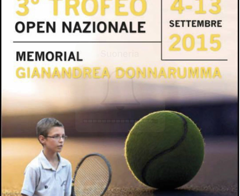 "Open Nazionale ""Memorial Gianandrea Donnarumma"""