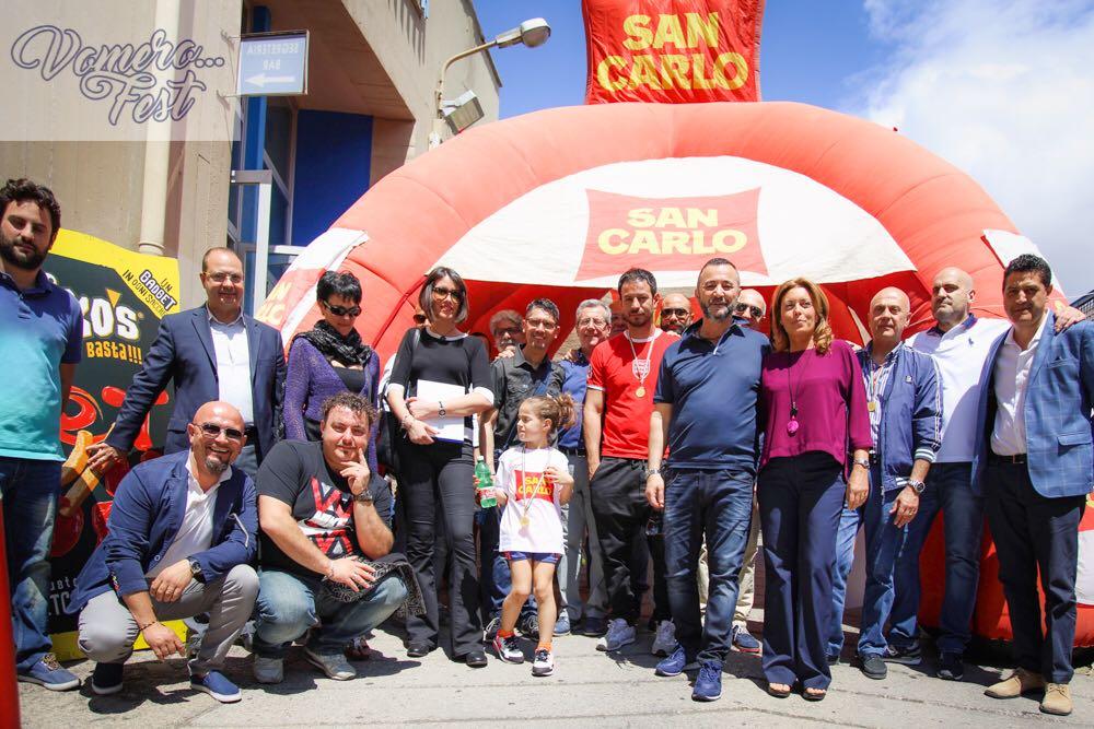 Trofeo San Carlo 2017:  una giornata di sport all'insegna della solidarietà