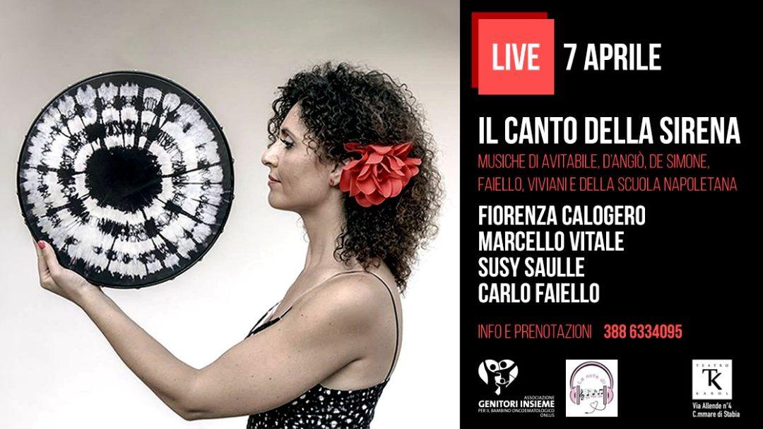 Fiorenza Calogero in scena per le 'Le note di Sabrina': la musica a sostegno dei bambini oncologici