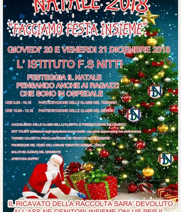 Natale tra scuola, talent e beneficenza !