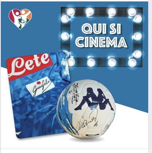 """Voce di Napoli per Genitori Insieme: il via all'asta benefica per finanziare """"Qui Cinema"""""""