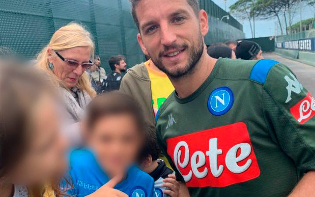 Una mattinata con i calciatori del Napoli