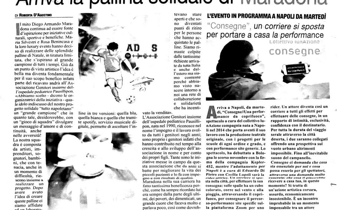 La pallina solidale di Maradona